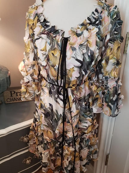 Milly Dresses & Skirts - Milly Krista Layered Dress Size S NWT
